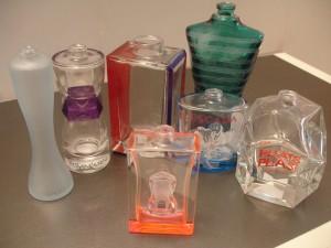 Flaconnage verre parfumerie
